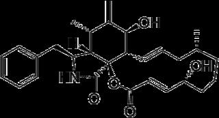 サイトカラシンBの化学構造