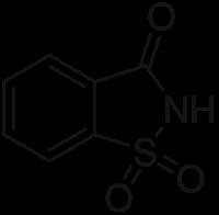 サッカリンの化学構造