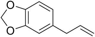 サフロールの化学構造