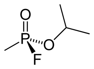サリンの化学構造