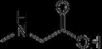 サルコシンの化学構造