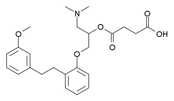 サルポグレラートの化学構造