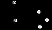 ザルトプロフェンの化学構造