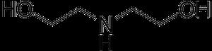 ジエタノールアミンの化学構造