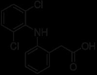 ジクロフェナクの化学構造