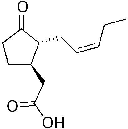 ジャスモン酸の化学構造