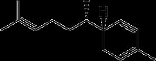 ジンギベレンの化学構造