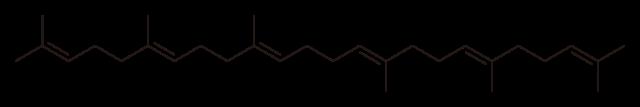 スクアレンの化学構造