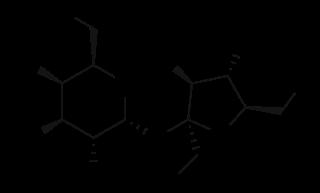 スクラロースの化学構造