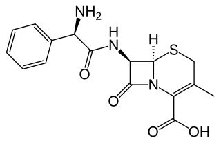 セファレキシンの化学構造