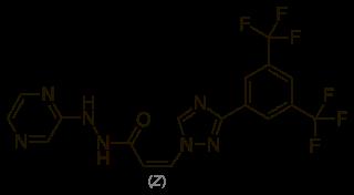 セリネクソールの化学構造