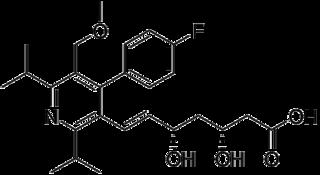 セリバスタチンの化学構造