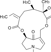 センキルキンの化学構造