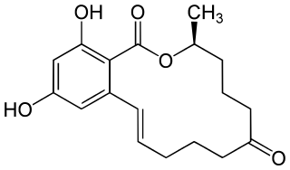 ゼアラレノンの化学構造