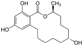 ゼラノールの化学構造