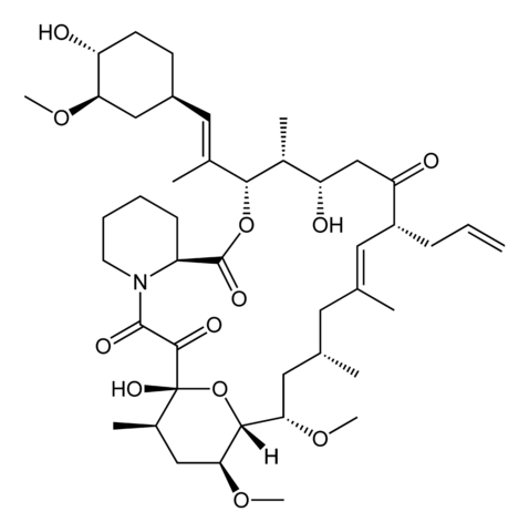 タクロリムスの化学構造