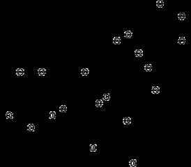 テアフラビンジガレートの化学構造