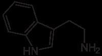 トリプタミンの化学構造