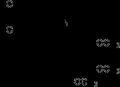 トリメトキノールの化学構造