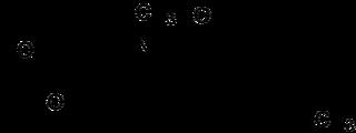 トルメチンの化学構造