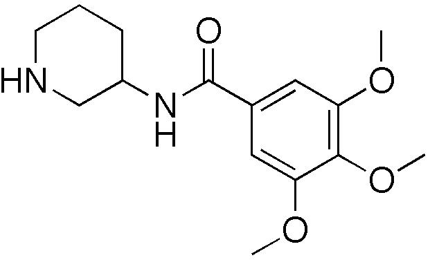 トロキシピドの化学構造