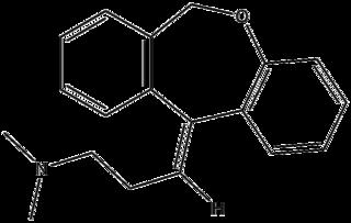 ドキセピンの化学構造