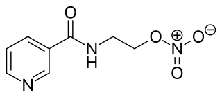 ニコランジルの化学構造