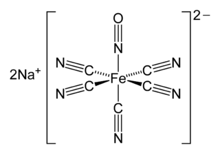 ニトロプルシドの化学構造