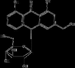 バルバロイン(アロイン)の化学構造