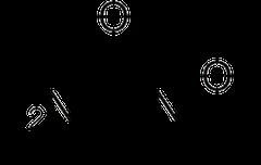 ヒドロキシカルバミド(ヒドロキシウレア)の化学構造