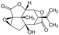 ピクロトキシンの化学構造