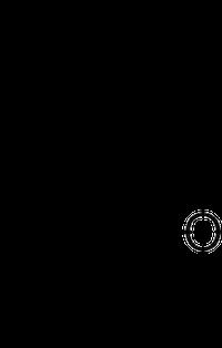 ピペリトンの化学構造