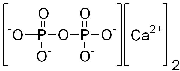 ピロリン酸カルシウムの化学構造