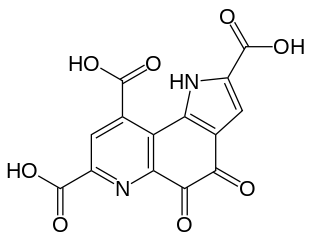 ピロロキノリンキノンの化学構造