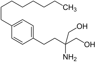 フィンゴリモドの化学構造