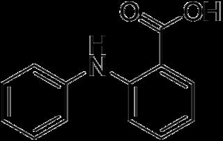 フェナム酸の化学構造