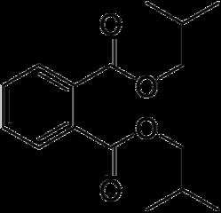 フタル酸ジイソブチルの化学構造