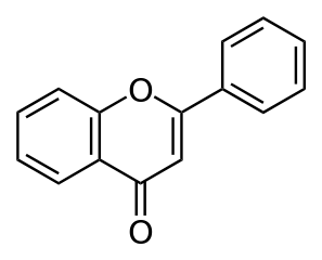 フラボンの化学構造