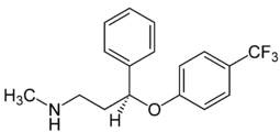 フルオキセチンの化学構造