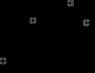 フルオロメトロンの化学構造
