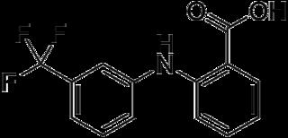 フルフェナム酸の化学構造