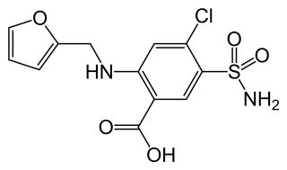 フロセミドの化学構造