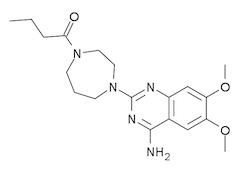 ブナゾシンの化学構造