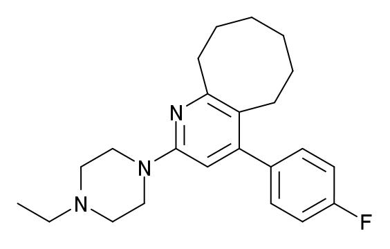 ブロナンセリンの化学構造