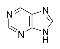 プリン(プリン骨格)の化学構造