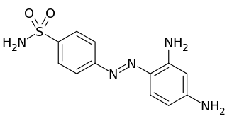 プロントジルの化学構造