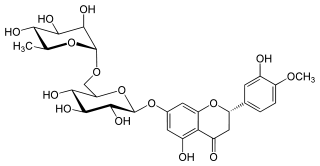 ヘスペリジンの化学構造