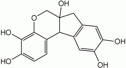 ヘマトキシリンの化学構造