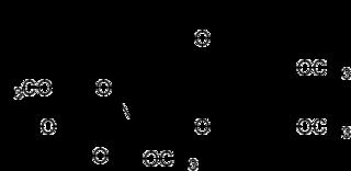 ペデリンの化学構造