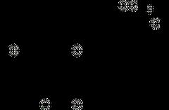 ホモエリオジクチオールの化学構造